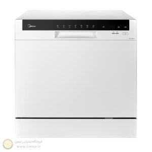 ماشین ظرفشویی رومیزی 8 نفره مایدیا 3802f